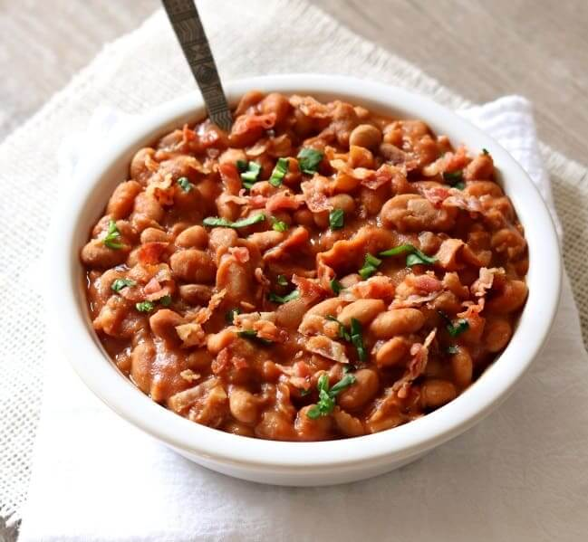 Homemade-Slow-Cooker-Pork-And-Beans