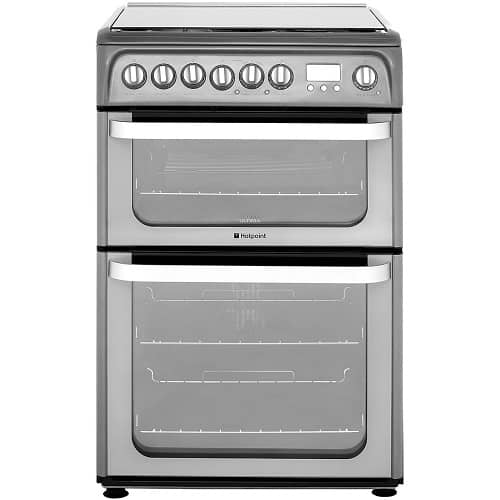 Hotpoint Ultima HUD61GS Dual Fuel Cooker