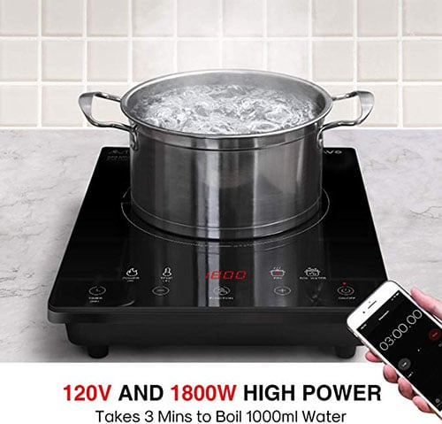 Sunavo Portable Induction Cooktop 1800W