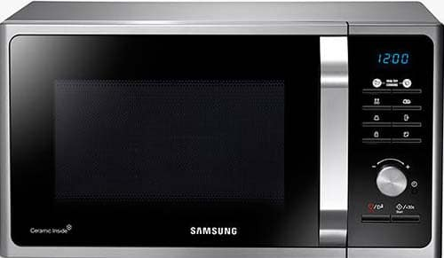 Samsung-MS23F301TAS-microwave-finished-in-silver
