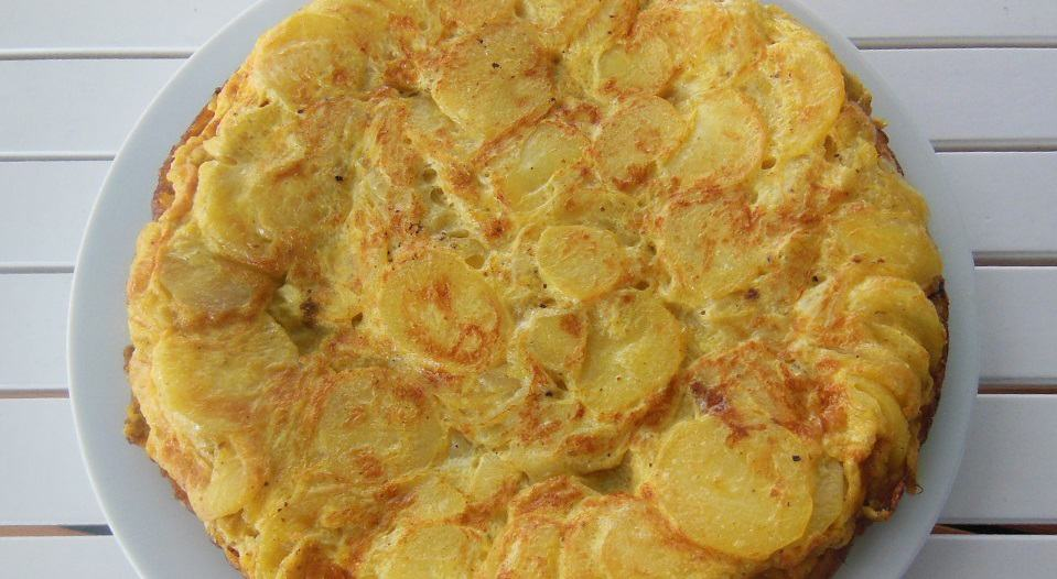 Spanish Tortilla Potato Omelette